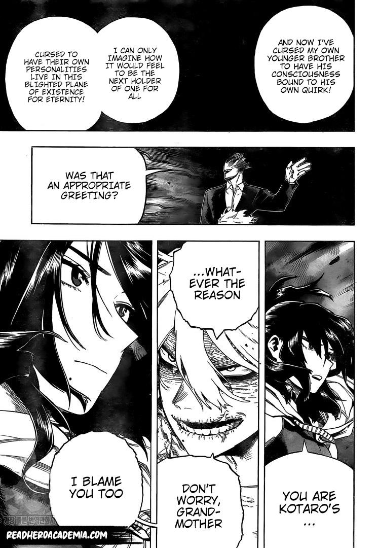 Boku no Hero Academia Chapter 287 Page 5