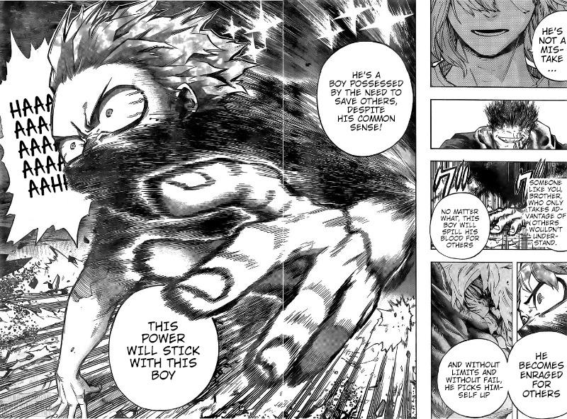 Boku no Hero Academia Chapter 287 Page 12