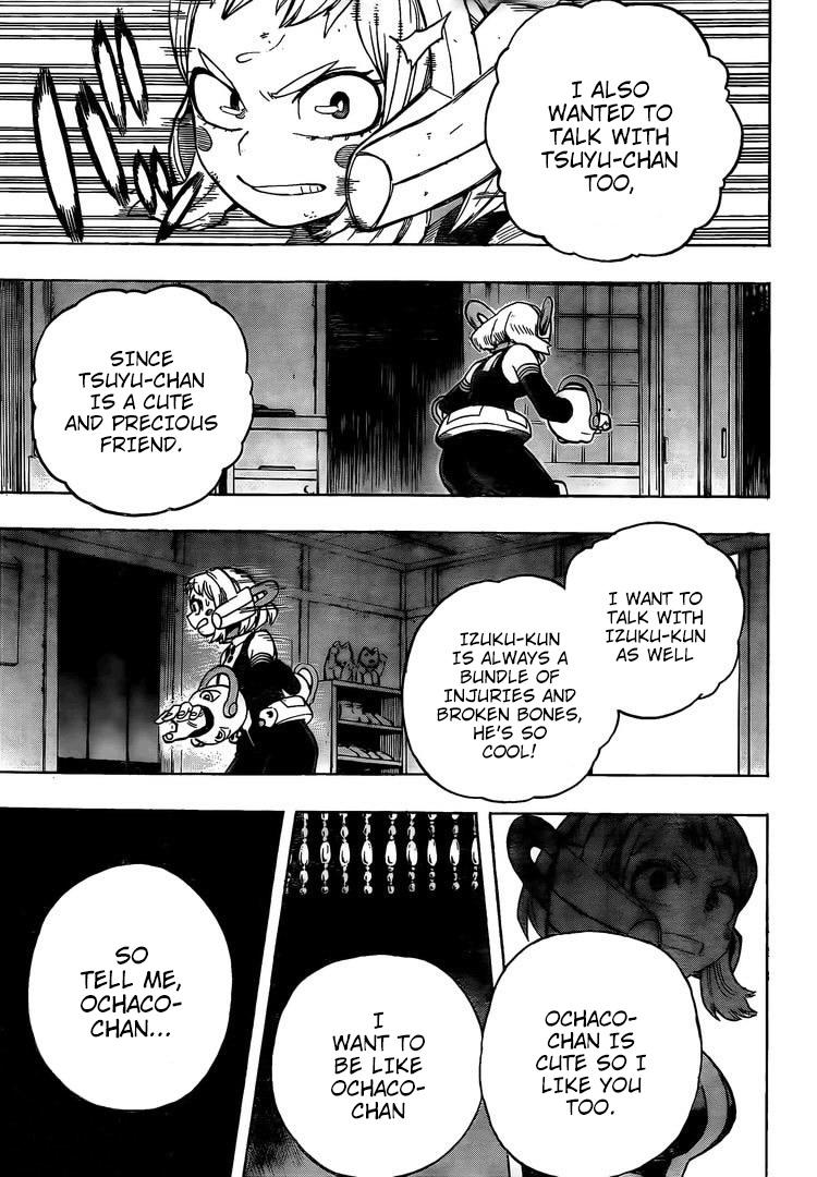 Boku no Hero Academia Chapter 288 Page 14