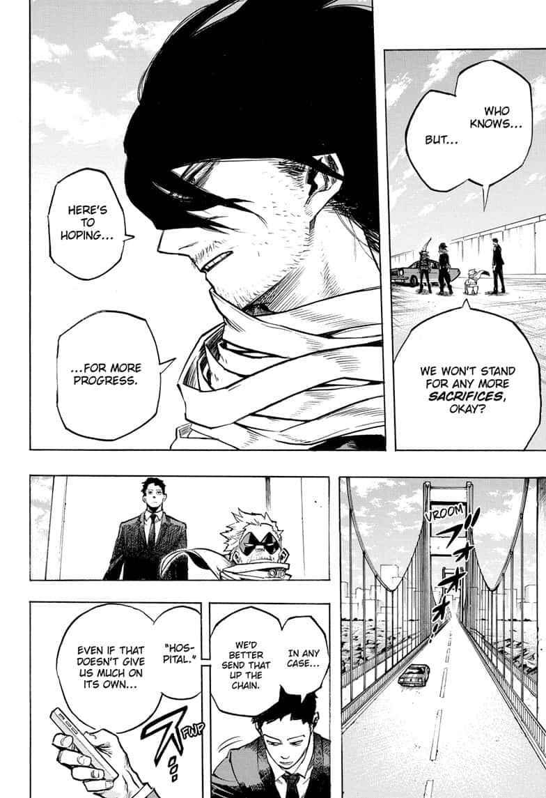 Boku no Hero Academia Chapter 255 Page 12
