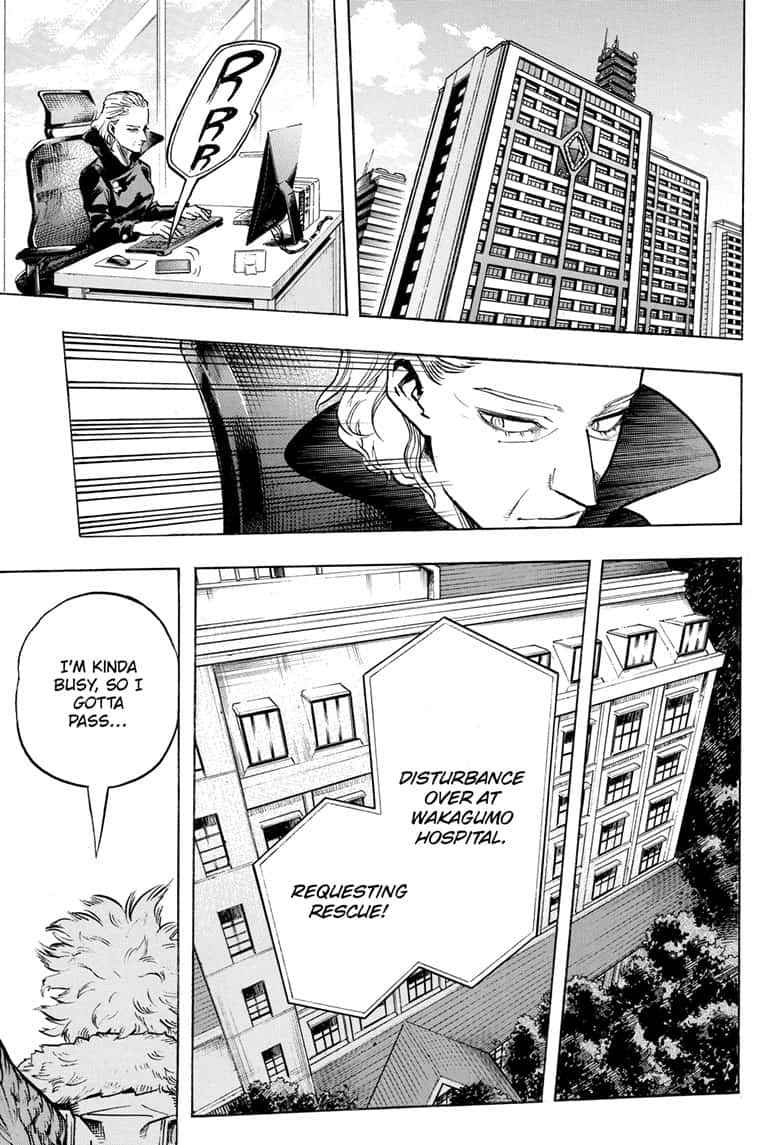 Boku no Hero Academia Chapter 255 Page 13
