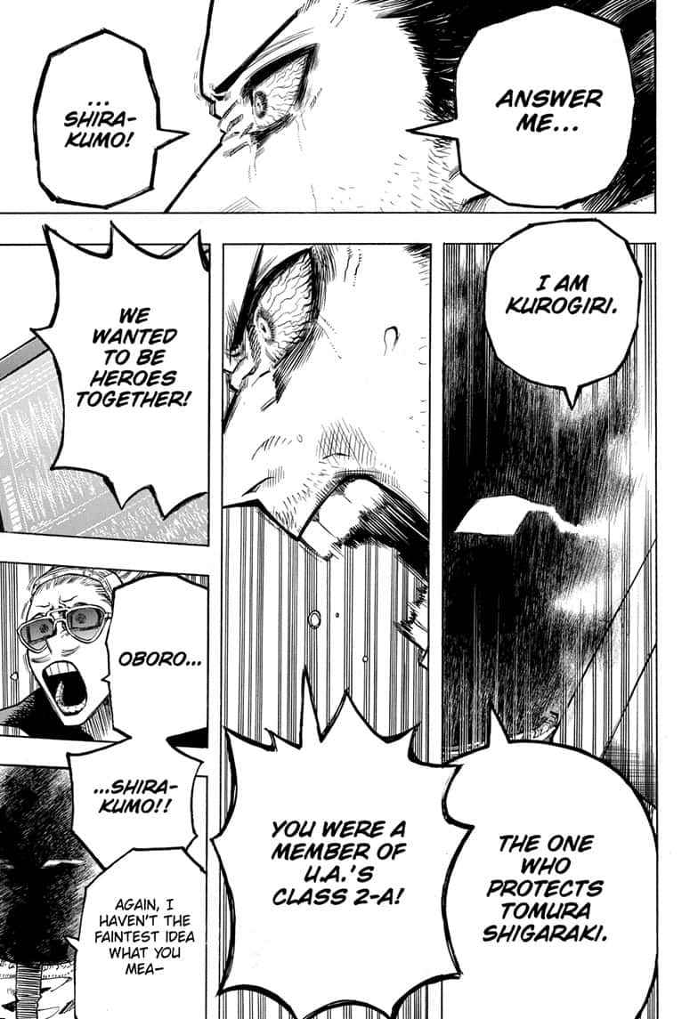 Boku no Hero Academia Chapter 255 Page 3