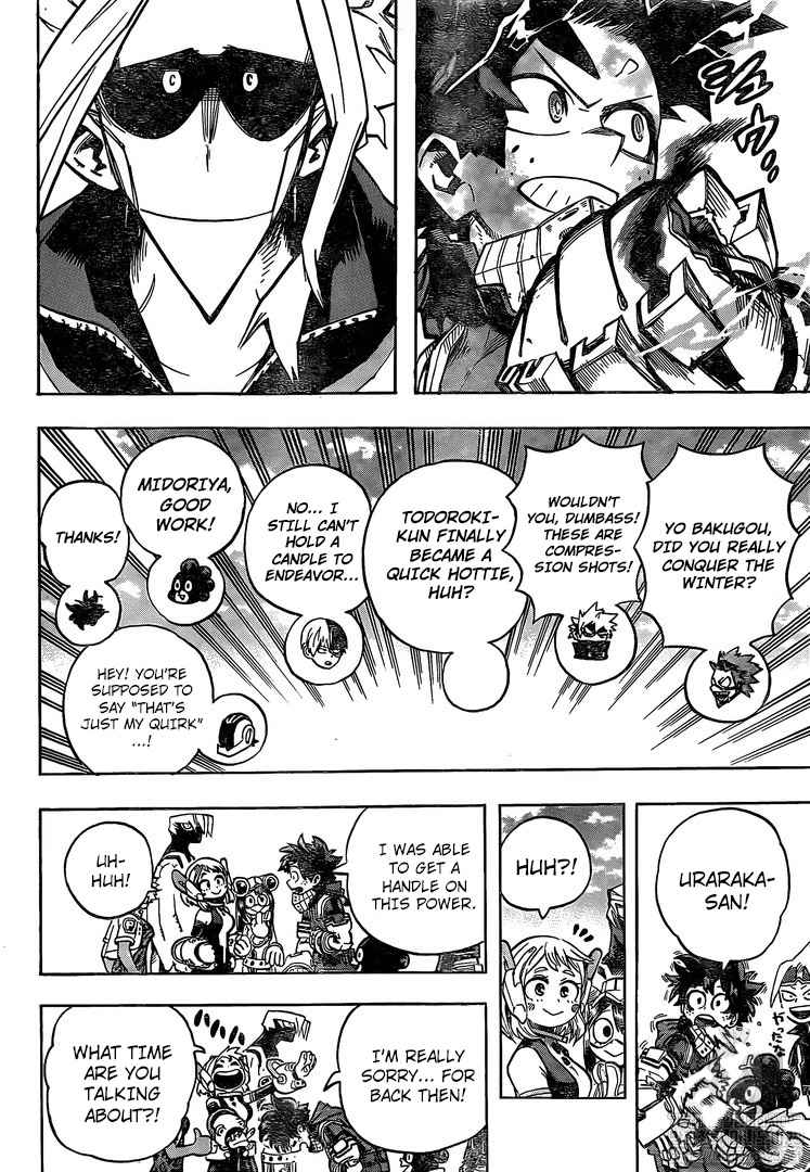 Boku no Hero Academia Chapter 256 Page 9