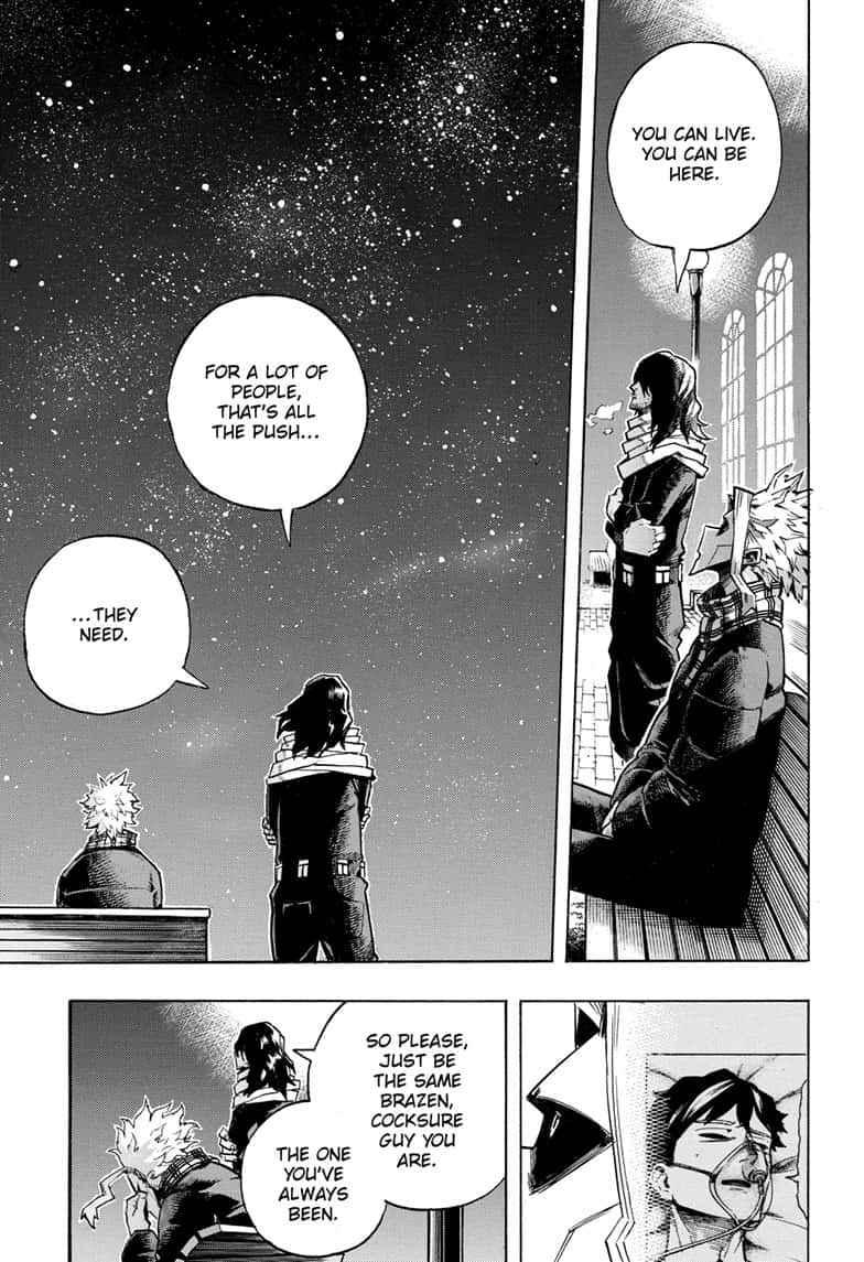 Boku no Hero Academia Chapter 257 Page 15