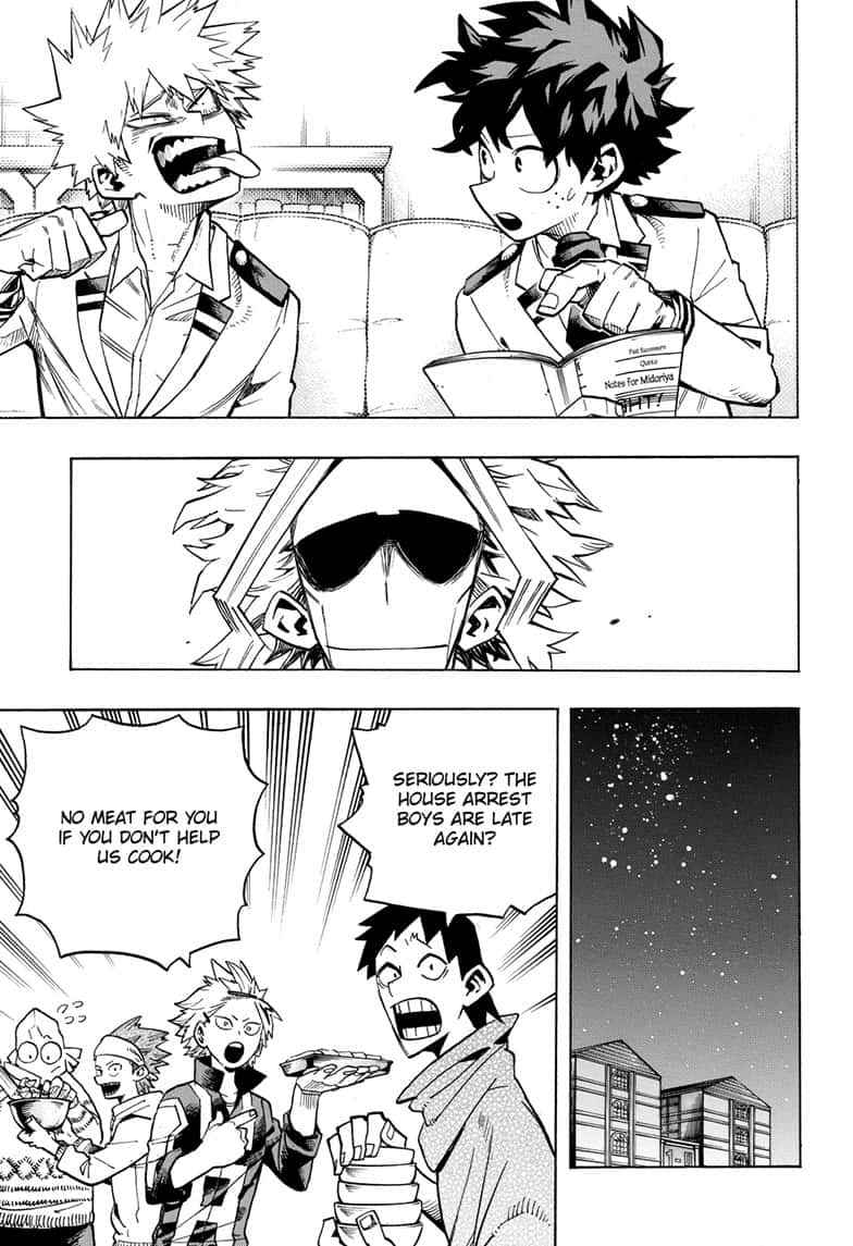 Boku no Hero Academia Chapter 257 Page 7