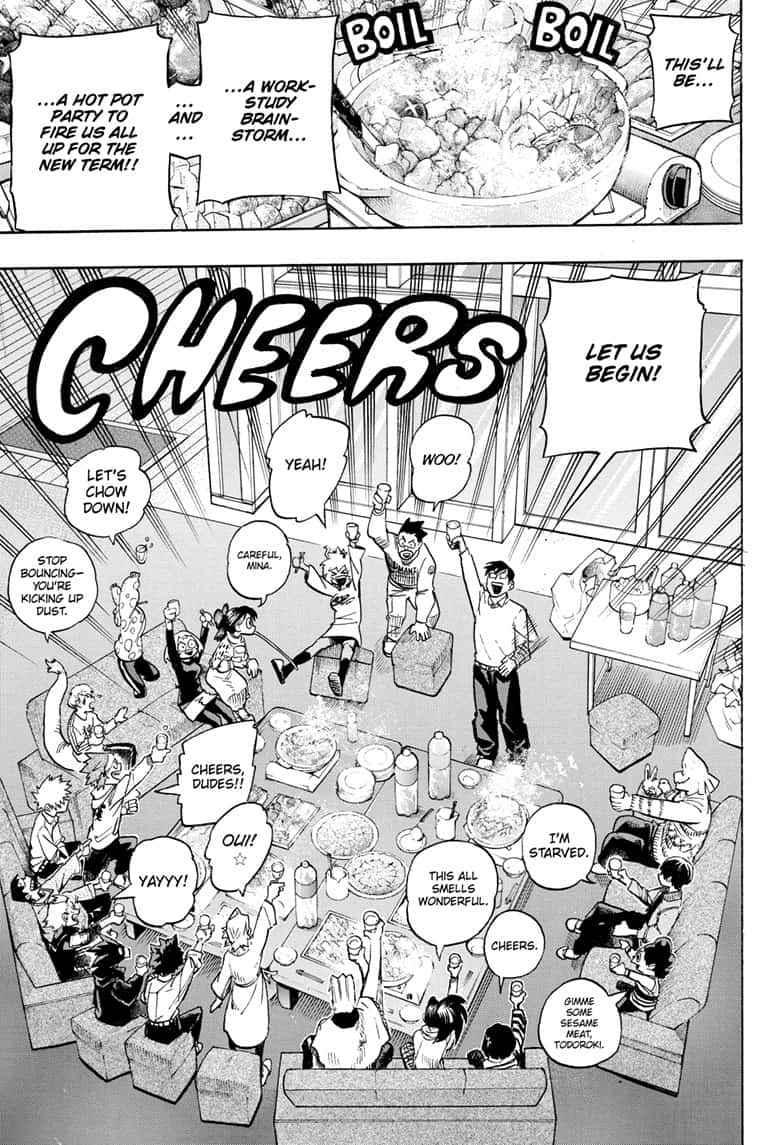 Boku no Hero Academia Chapter 257 Page 9