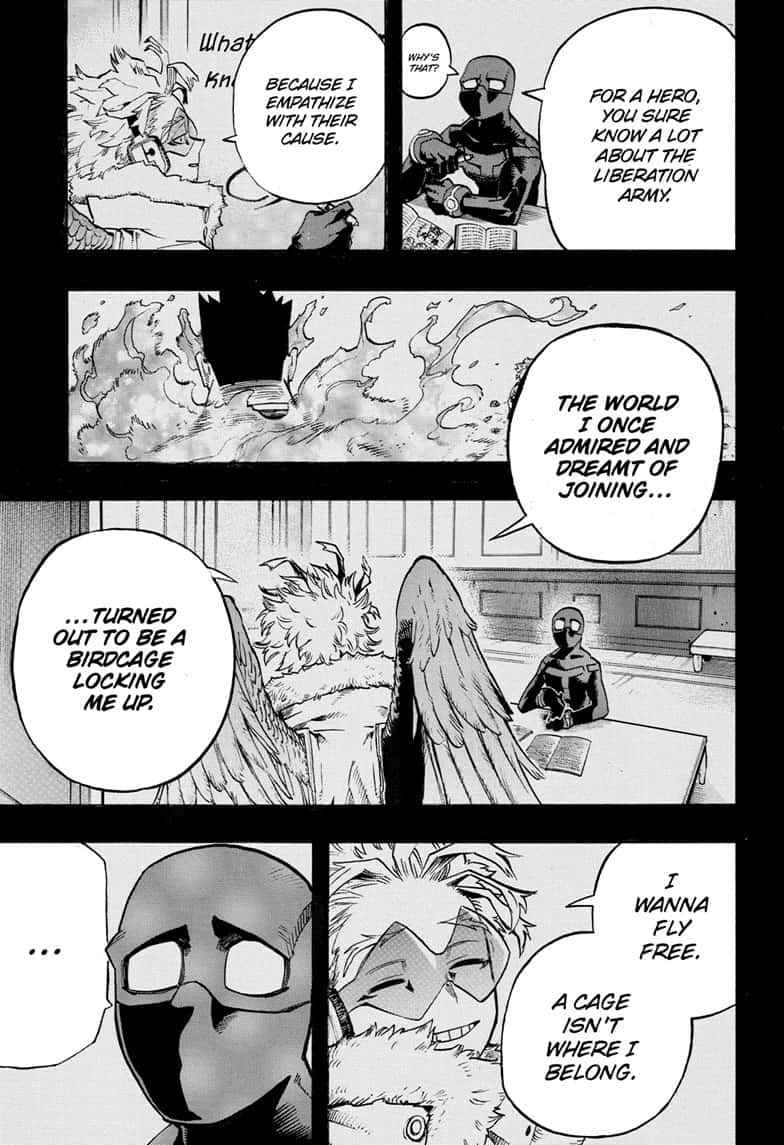 Boku no Hero Academia Chapter 258 Page 11