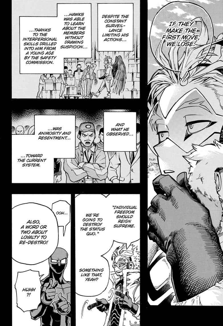 Boku no Hero Academia Chapter 258 Page 6