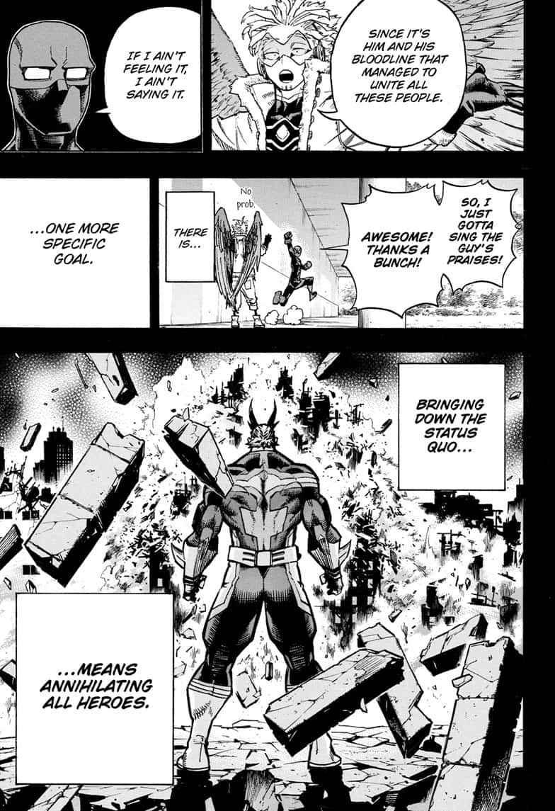 Boku no Hero Academia Chapter 258 Page 7