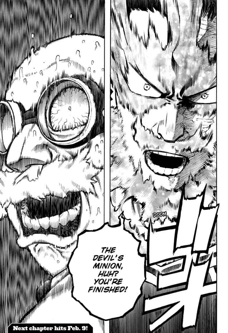 Boku no Hero Academia Chapter 259 Page 15