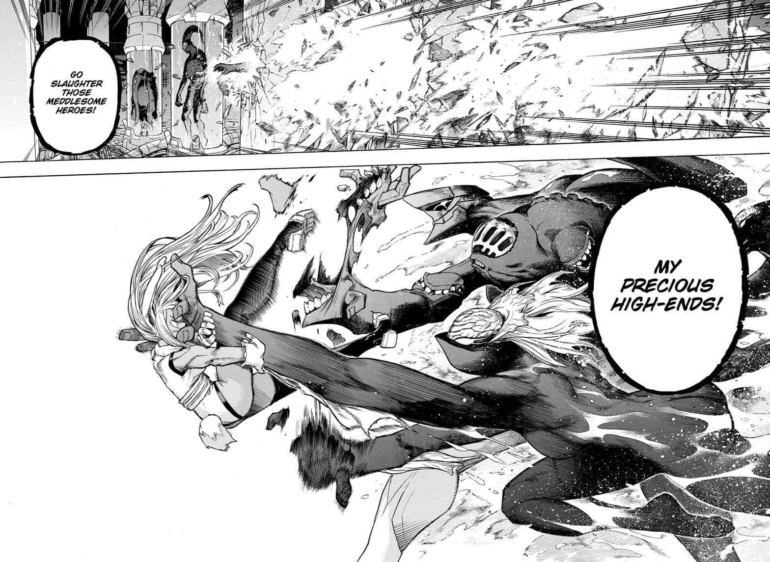 Boku no Hero Academia Chapter 261 Page 12