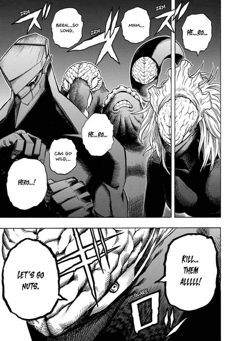 Boku no Hero Academia Chapter 261 Page 14