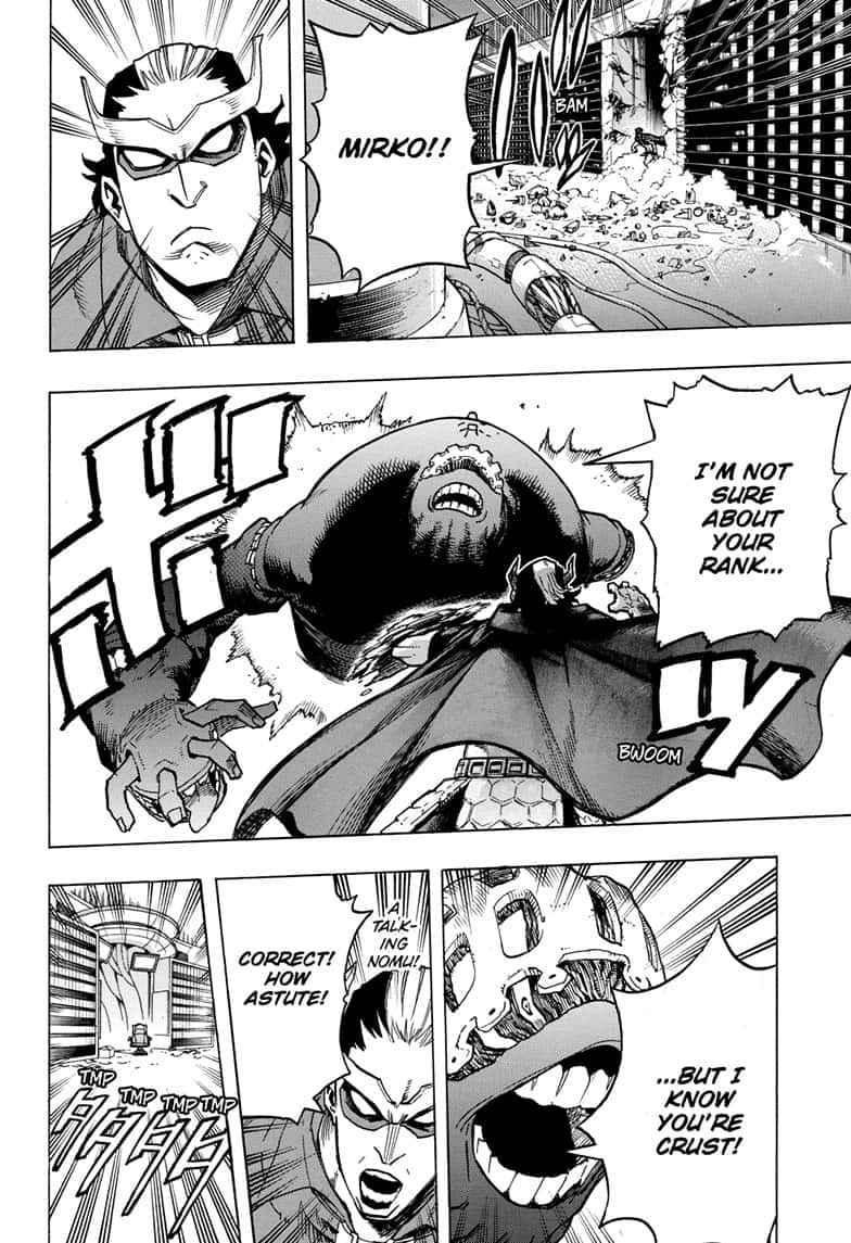 Boku no Hero Academia Chapter 261 Page 15