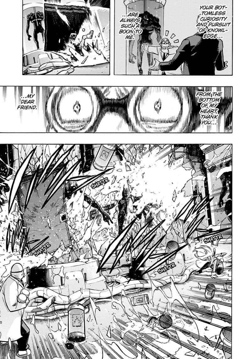 Boku no Hero Academia Chapter 261 Page 3