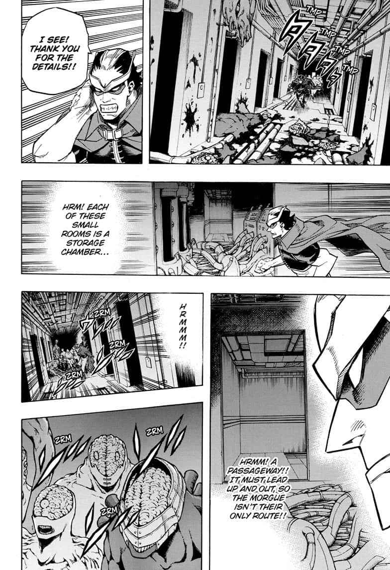 Boku no Hero Academia Chapter 261 Page 6