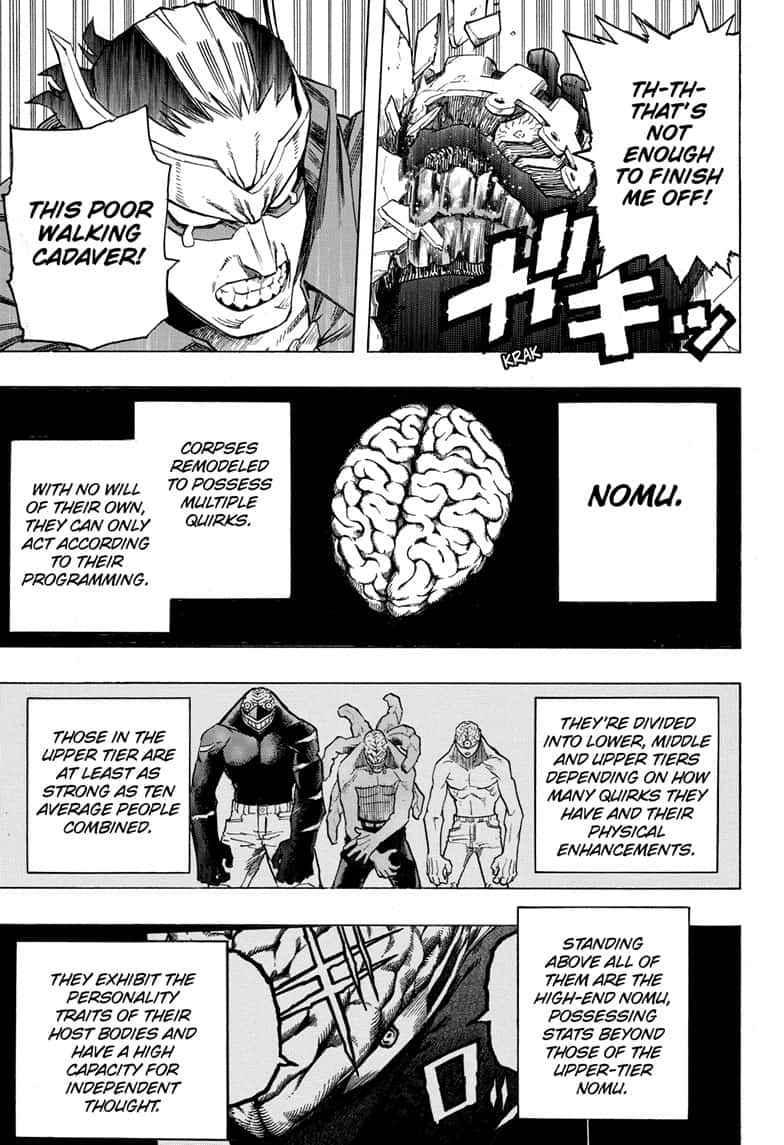 Boku no Hero Academia Chapter 262 Page 3