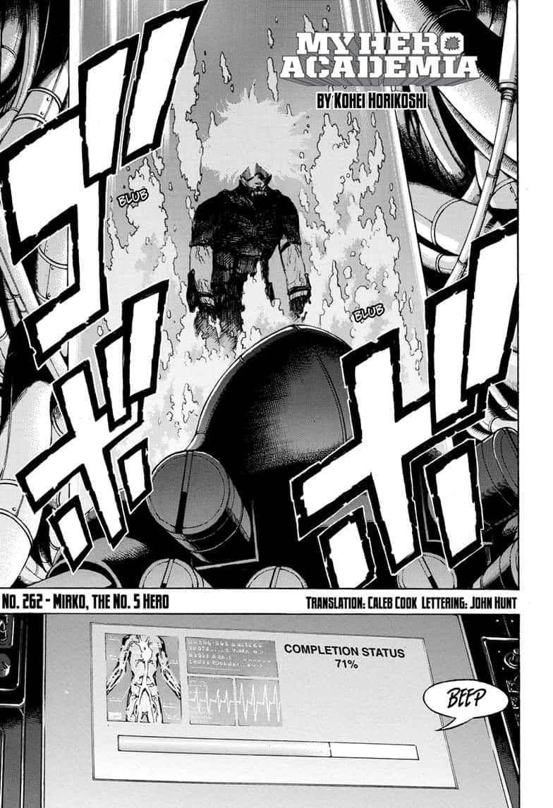 Boku no Hero Academia Chapter 262 Page 5