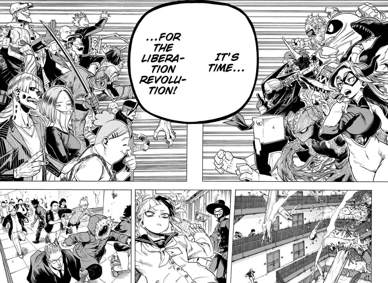 Boku no Hero Academia Chapter 263 Page 8