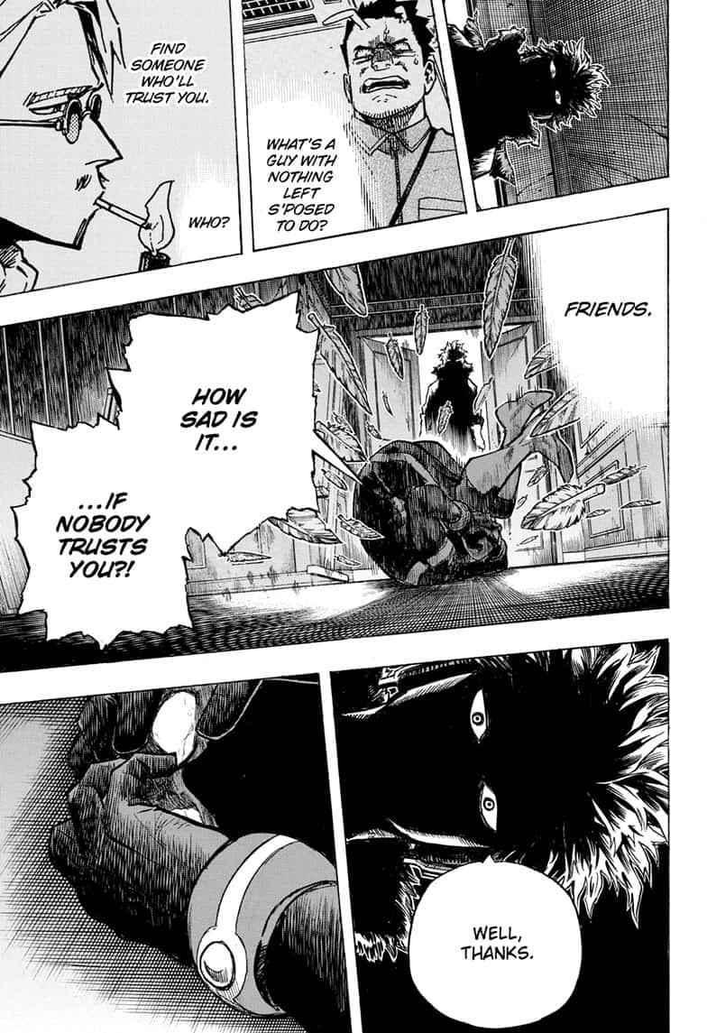 Boku no Hero Academia Chapter 264 Page 12