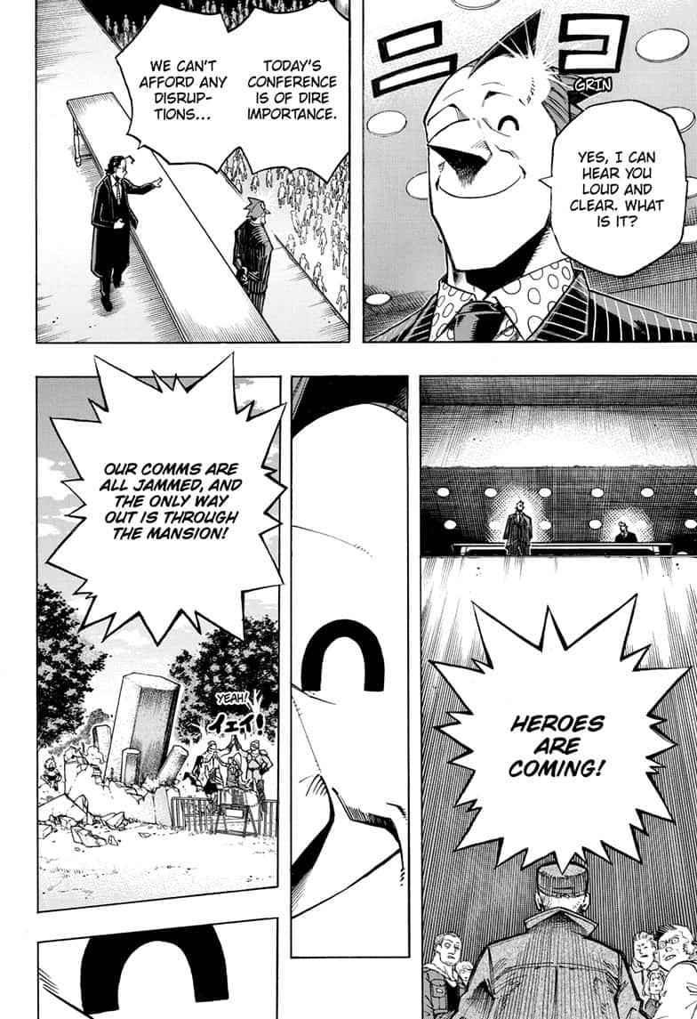 Boku no Hero Academia Chapter 264 Page 2
