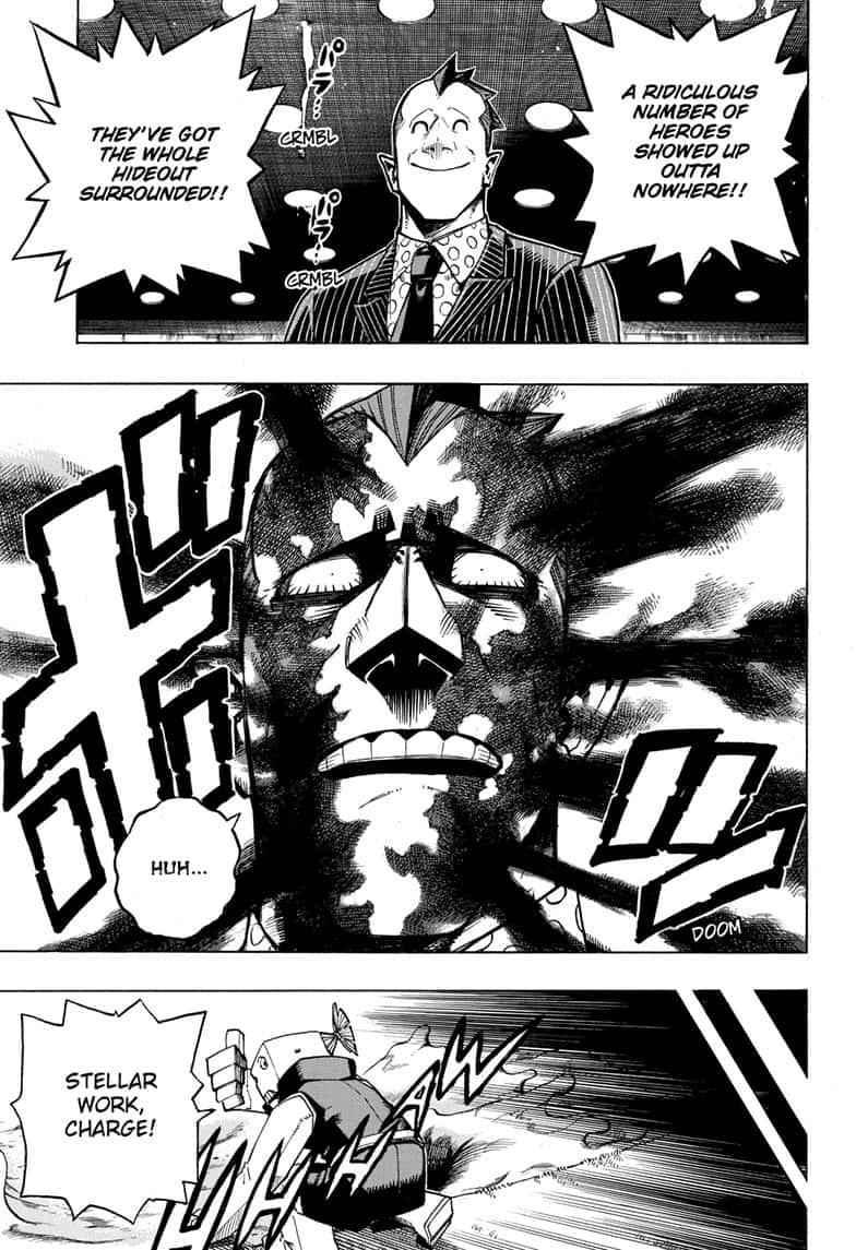 Boku no Hero Academia Chapter 264 Page 3