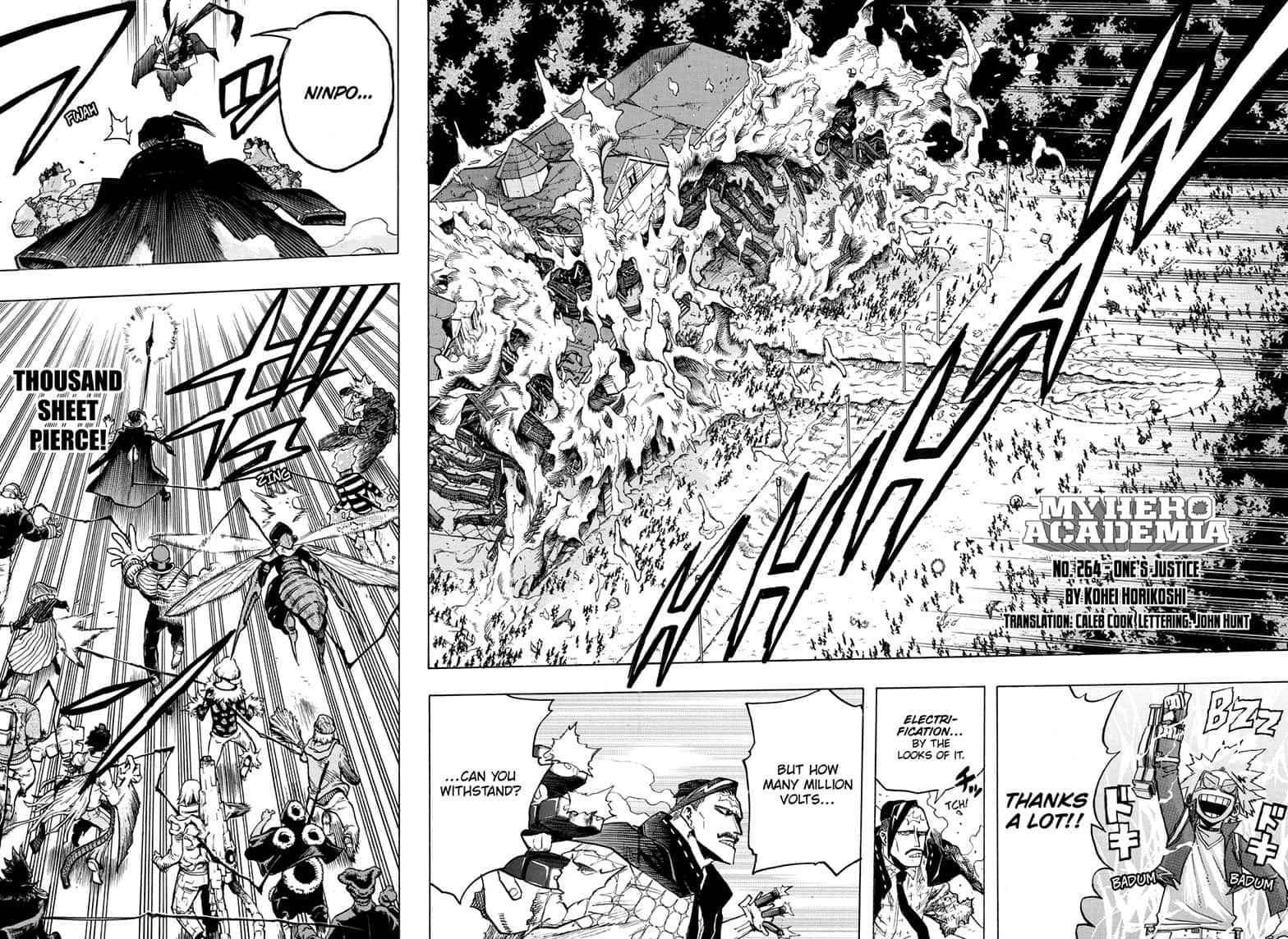 Boku no Hero Academia Chapter 264 Page 4