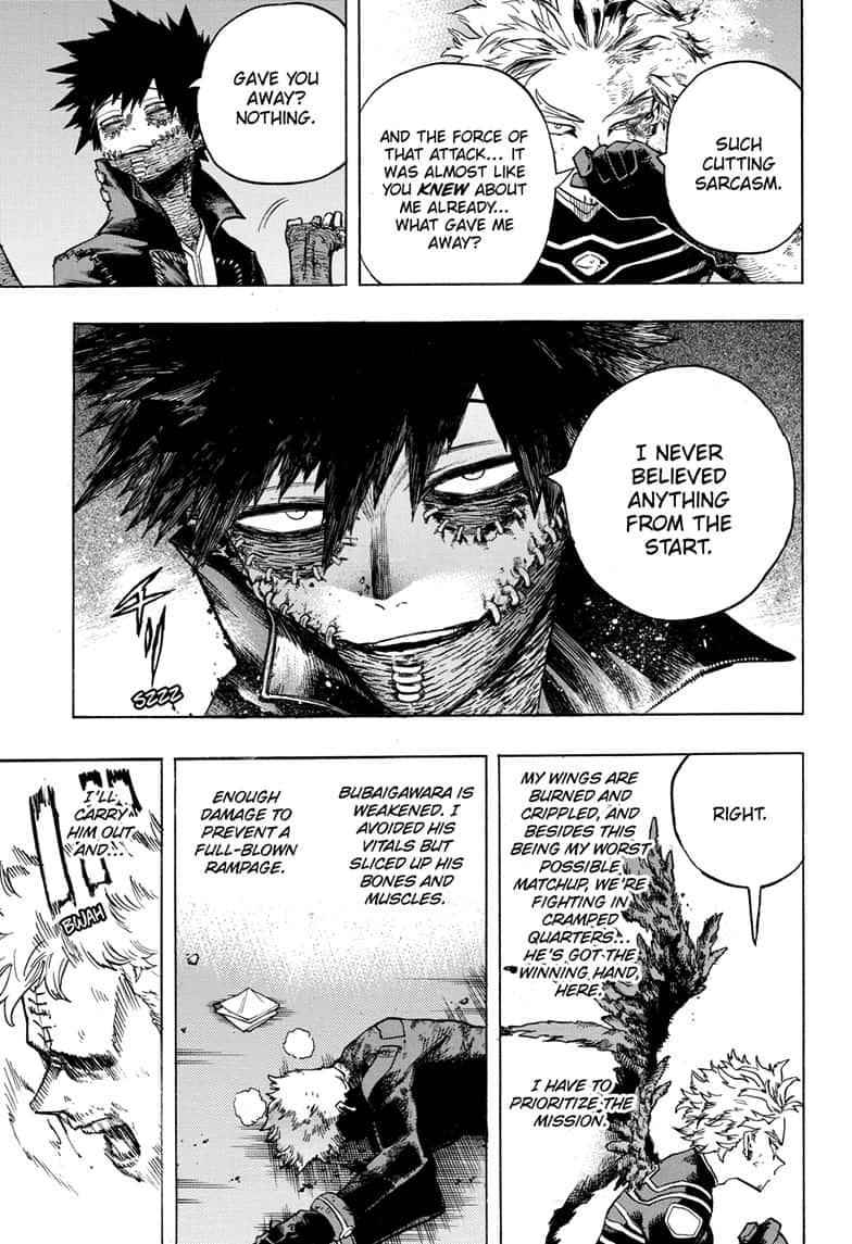 Boku no Hero Academia Chapter 266 Page 3