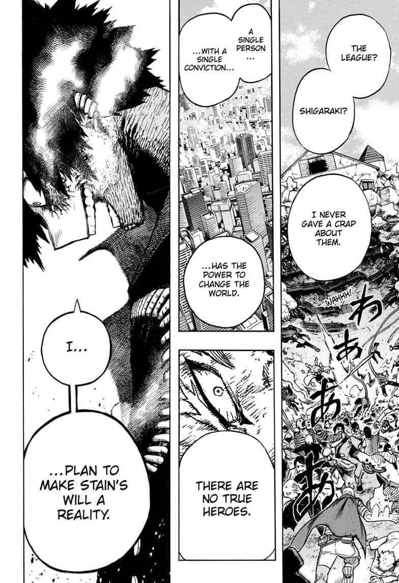 Boku no Hero Academia Chapter 267 Page 12