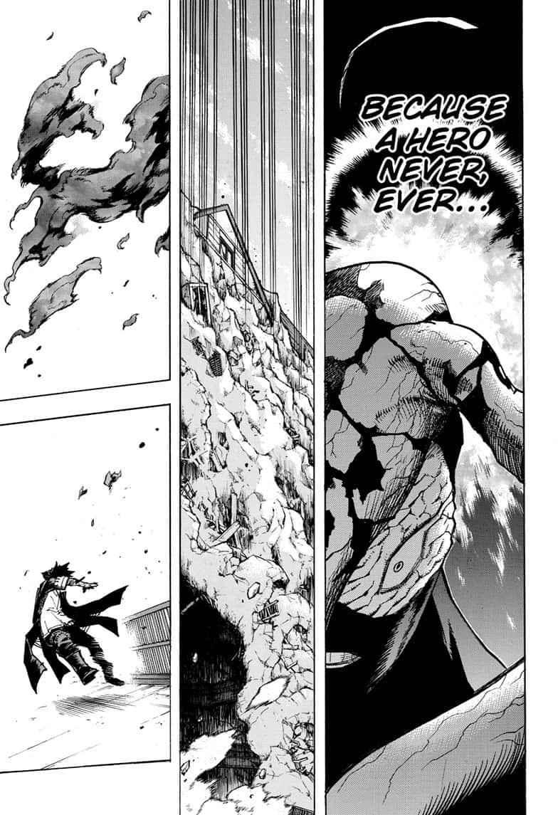 Boku no Hero Academia Chapter 267 Page 19