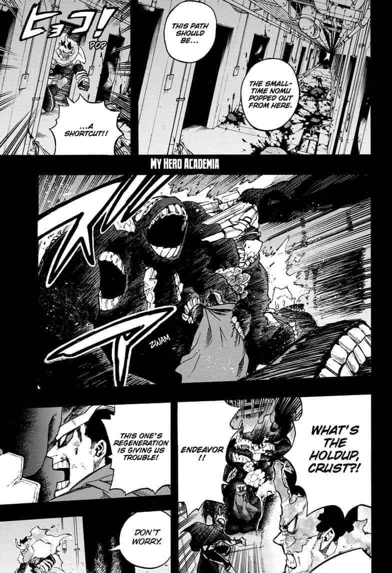Boku no Hero Academia Chapter 268 Page 1