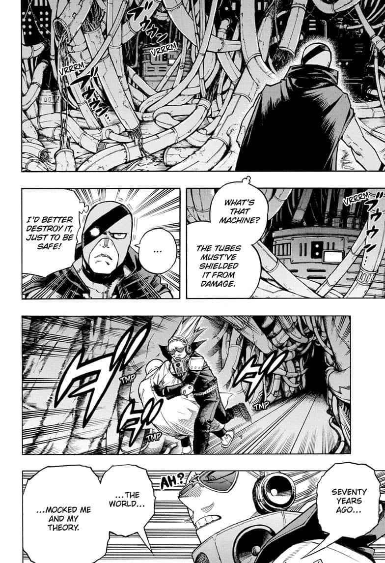 Boku no Hero Academia Chapter 270 Page 2