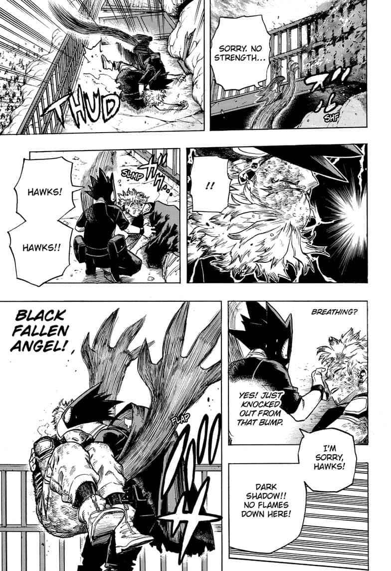 Boku no Hero Academia Chapter 271 Page 10